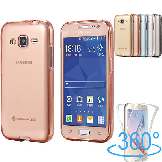 online store 26396 90964 Samsung Galaxy Grand Prime Case, AMASELL [Full-Body Coverage]  Scratch-Resistant Ultra-Slim Soft Back and Sides Bumper TPU Silicone Rubber  Crystal ...
