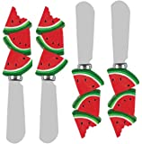 Boston Warehouse 4-Piece Spreader Set with Picnic Party Watermelon Design