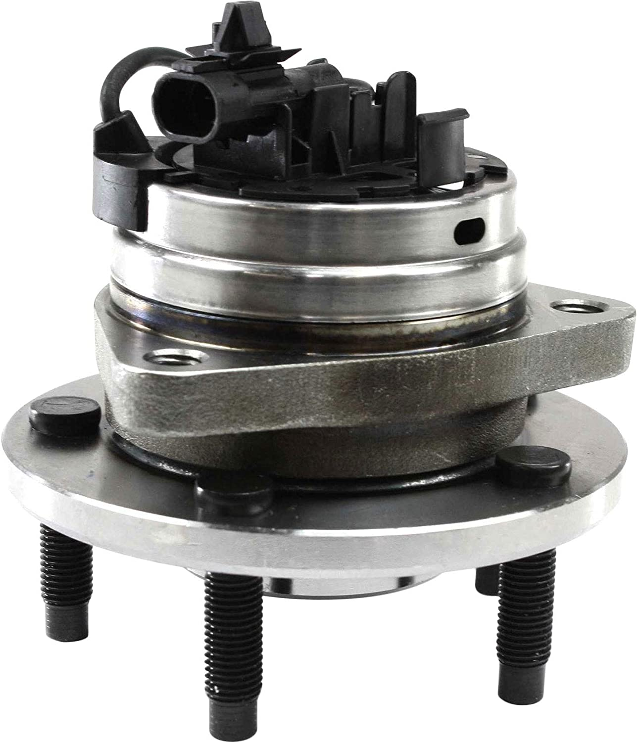 Wheel Hub Compatible For 2004-2012 Chevrolet Malibu 2005-2010 Pontiac G6 4Cyl 6Cyl 2.2L 3.5L 2.4L 3.6L 3.9L Front Left Driver or Right Passenger With Ball Bearing