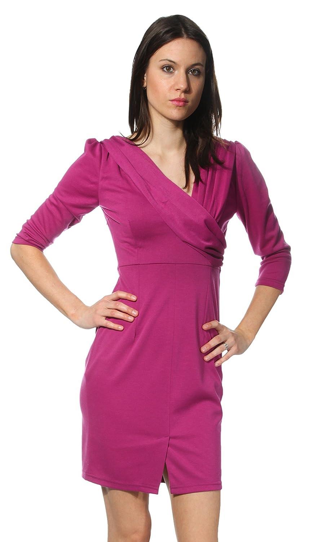 FIGL Damen Kleid Fuschia M082FKM-FUSCHIA