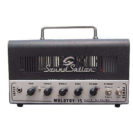 Soundsation – Cabecero amplificador para guitarra eléctrica 15 W