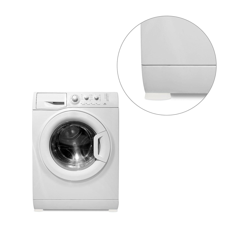 relaxdays 10017884 patin anti vibration pour machine laver blanc lot de 4 ebay. Black Bedroom Furniture Sets. Home Design Ideas