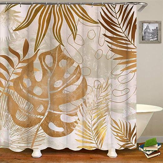 velor upholstery 50x150cm0.55yd Polyester tropical leaves on black background Velor Golden Leaves Golden Tropical Leafs Velvet Fabric
