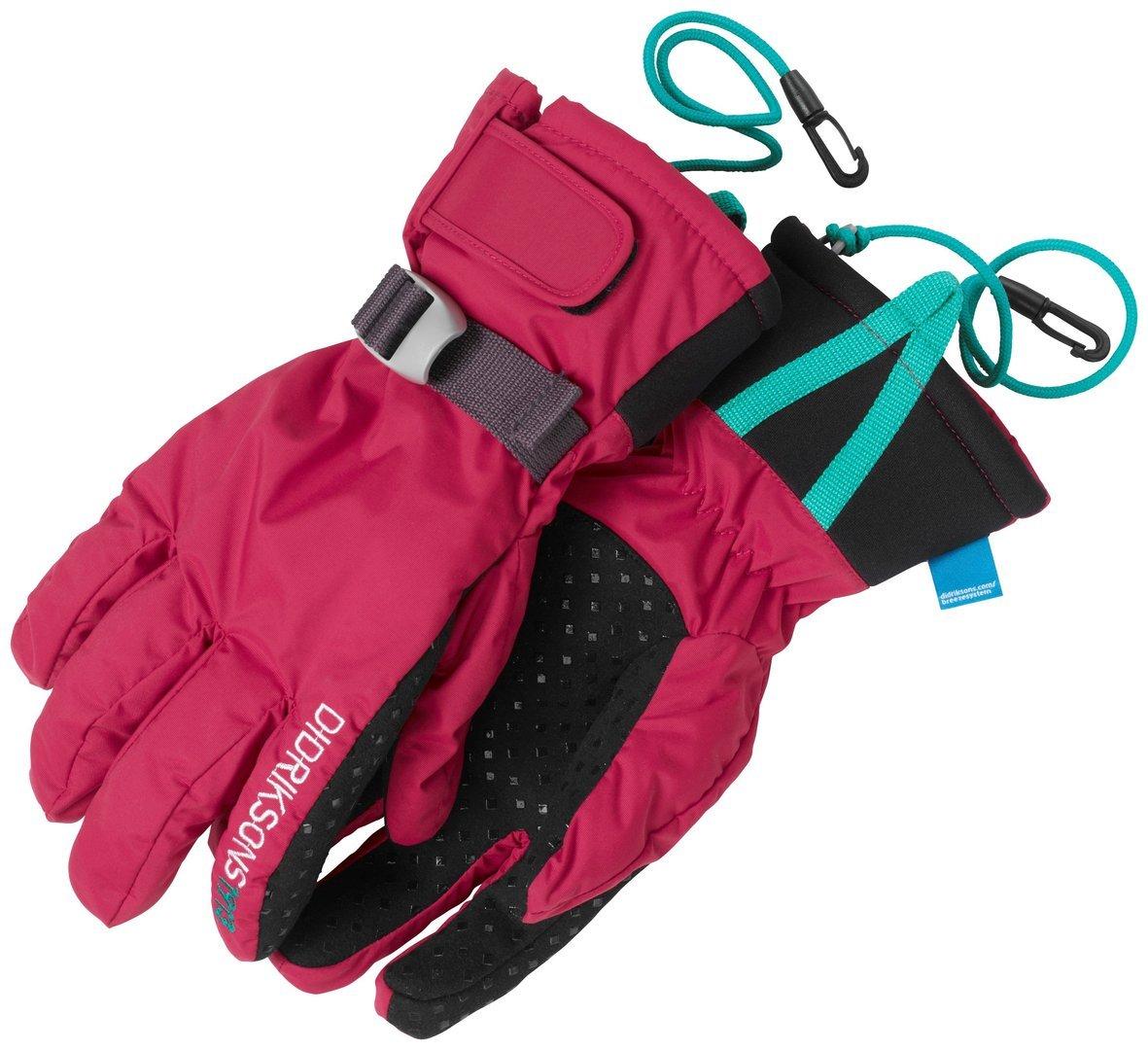 Didriksons Waterproof and Warm Five Youth Childrens Boys Girls Ski Gloves B00OL0KOPQ