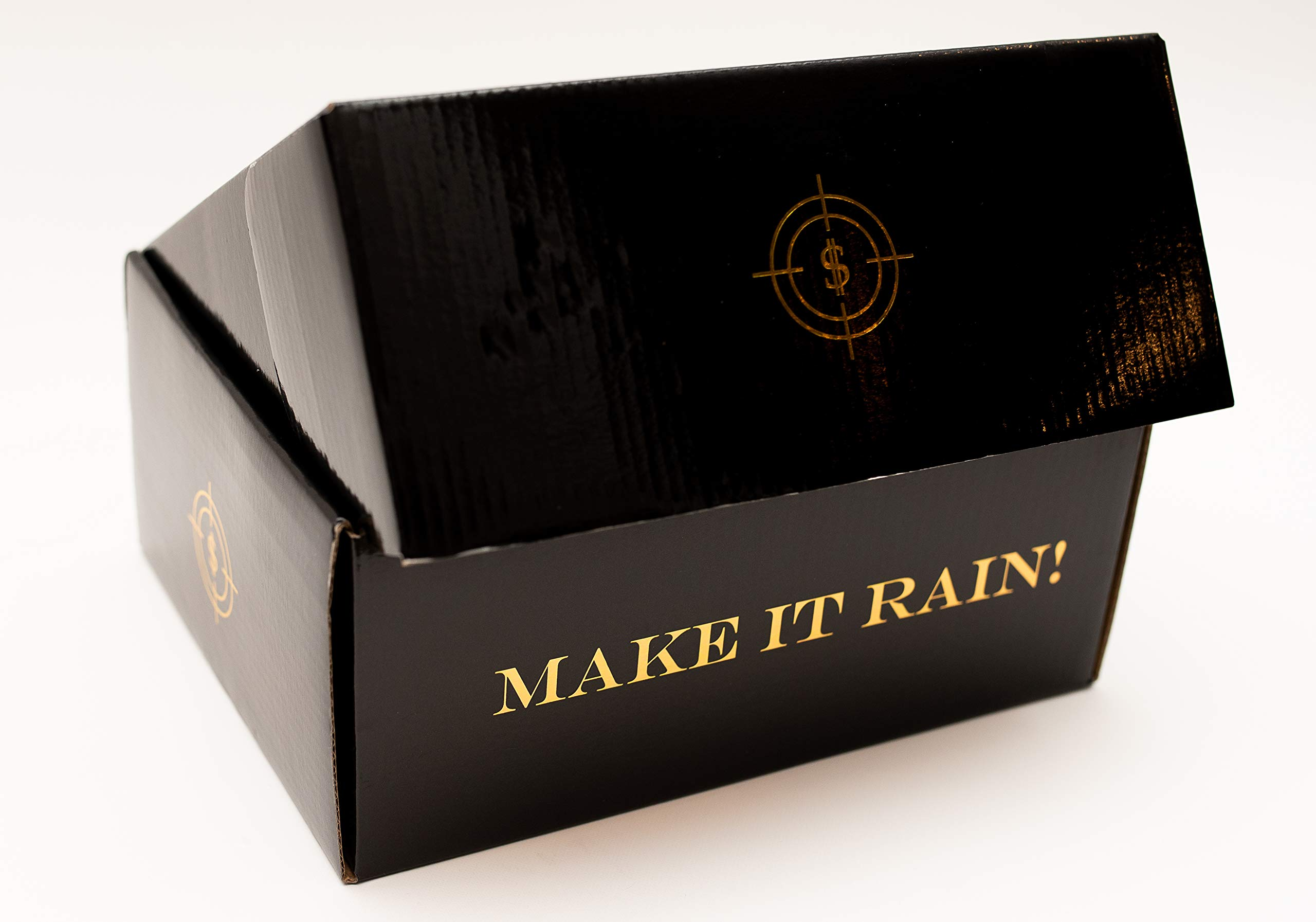 All Out Solutions The Rainmaker Money Gun | $10,000 Play Money | Money Looks Real! | Metallic Gold | Impress Your Friends with This Fun Party Toy | Shoot Cash and Make It Rain by All Out Solutions (Image #9)