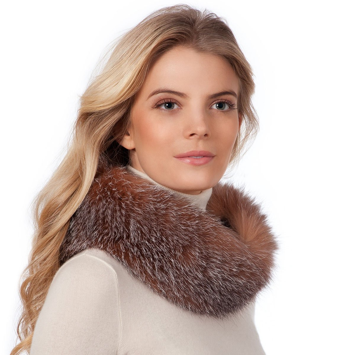 Eric Javits Designer Women's - Fur Ring Hat - Crystal