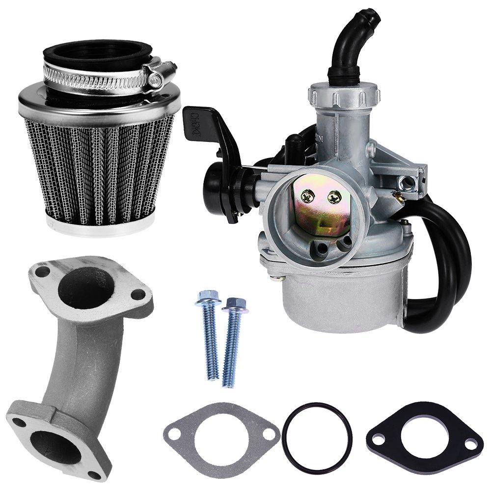 Qkparts 22mm Carburetor Air Filter For 110cc 125cc Crf Ssr Sunl Atv Fuel Taotao Pit Bike Carburetors Automotive Tibs