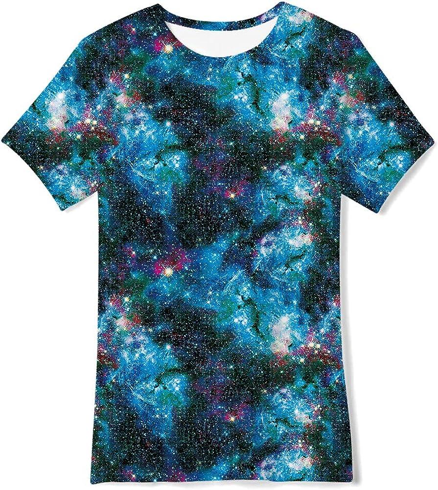 TUONROAD 3D T-Shirt pour Enfant Gar/çons Fille Manches Courtes 6-16 Ans