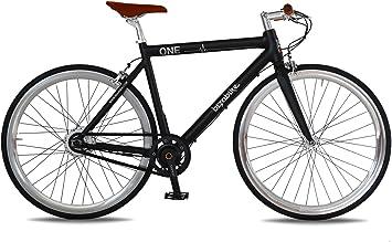 Bicicleta eléctrica ONE de carretera con batería Panasonic de 36 V y 10,4 Ah, y autonomía de 90 km: Amazon.es: Deportes y aire libre