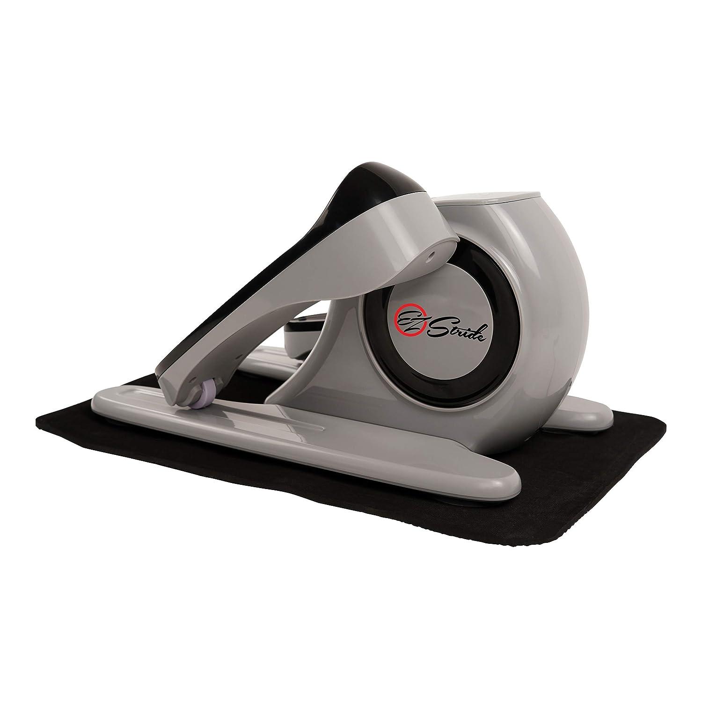 Sunny Health Fitness EZ Stride Motorized Auto Assisted Under Desk Elliptical Peddler Exerciser – SF-E3626