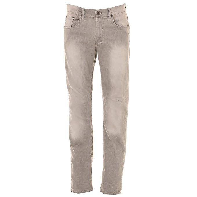038cad4a0d3ea Pantaloni da Lavoro Jeans Elasticizzati Uomo Cotone Prelavato JRC El Paso   Amazon.it  Abbigliamento