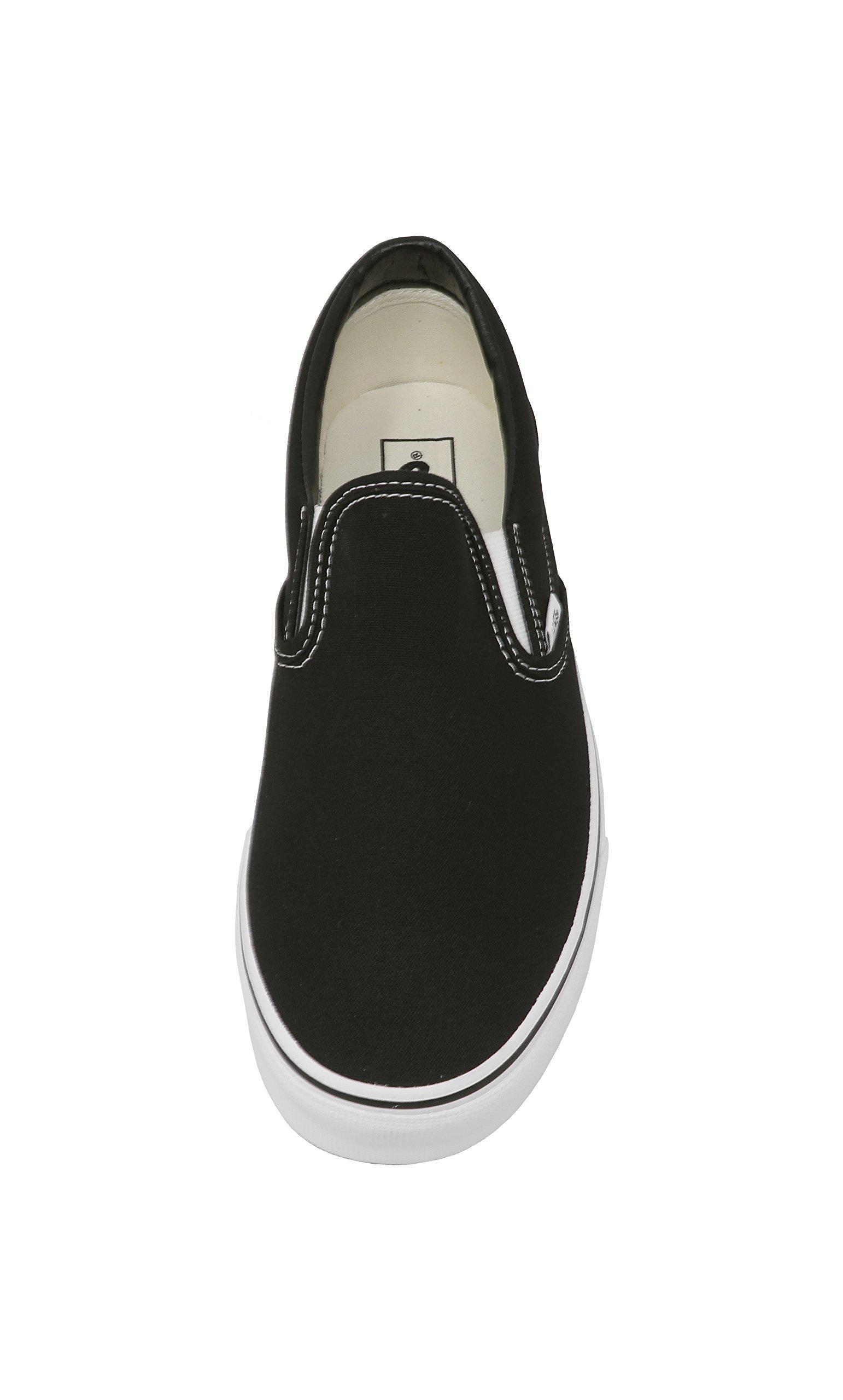Vans U Classic Slip-On Skate Shoe Black 9.5 D(M) US by Vans (Image #4)