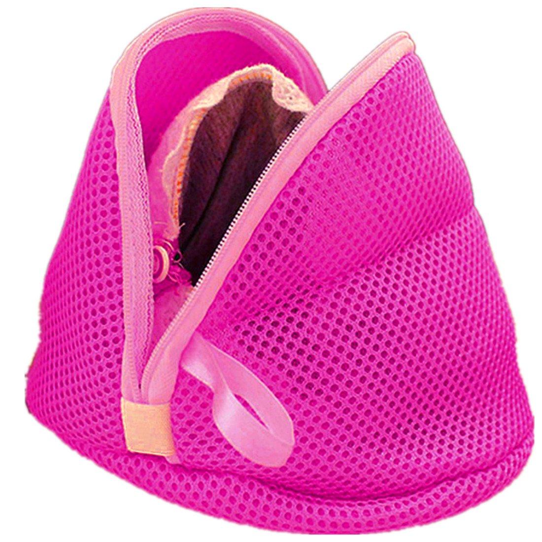 HANYI Lingerie Underwear Bra Sock Pop Up Washing Clothes Laundry Rose Bag