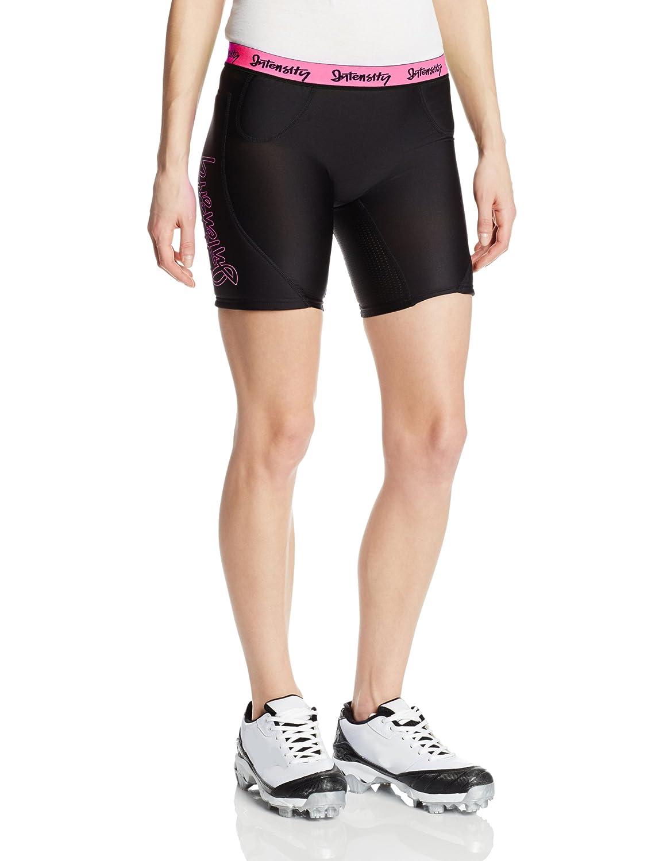 Intensity Womens 7-Inch Hook Slide Low Rise Solid Slider Shorts