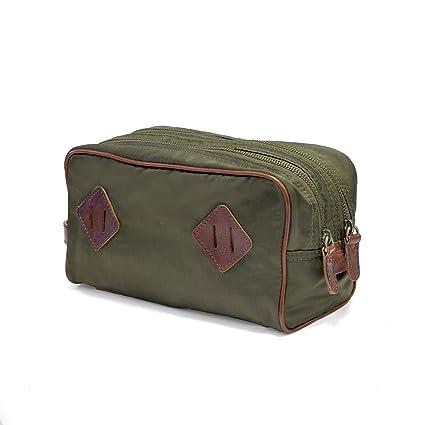 DRAKENSBERG - Bolsa de aseo Hombre Verde oliv-grün: Amazon ...