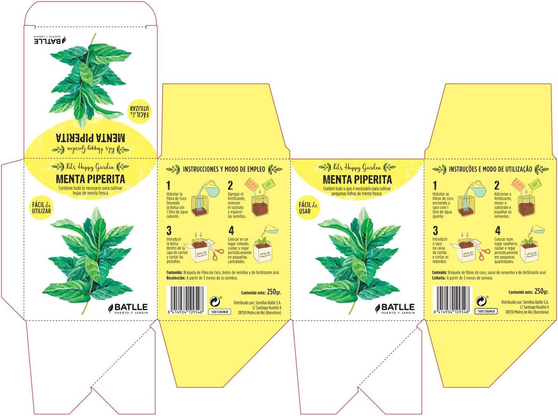 Huerto Urbano - Kit Happy Garden Tomate Cherry - Batlle: Amazon.es ...