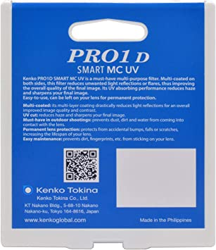 Kenko PRO1D SMART MC UV 58mm