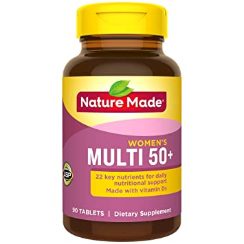Amazon.com: Nature Made Multi para ella 50 + múltiples ...