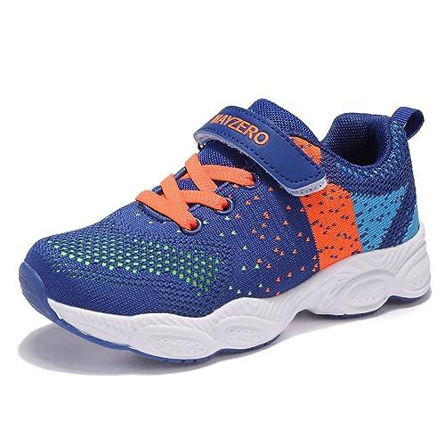f4892d3b6 UMmaid Chaussure de Sports Basket Mixte Enfant Tennis Running Basses Mesh  Sneakers pour Fille Garcon