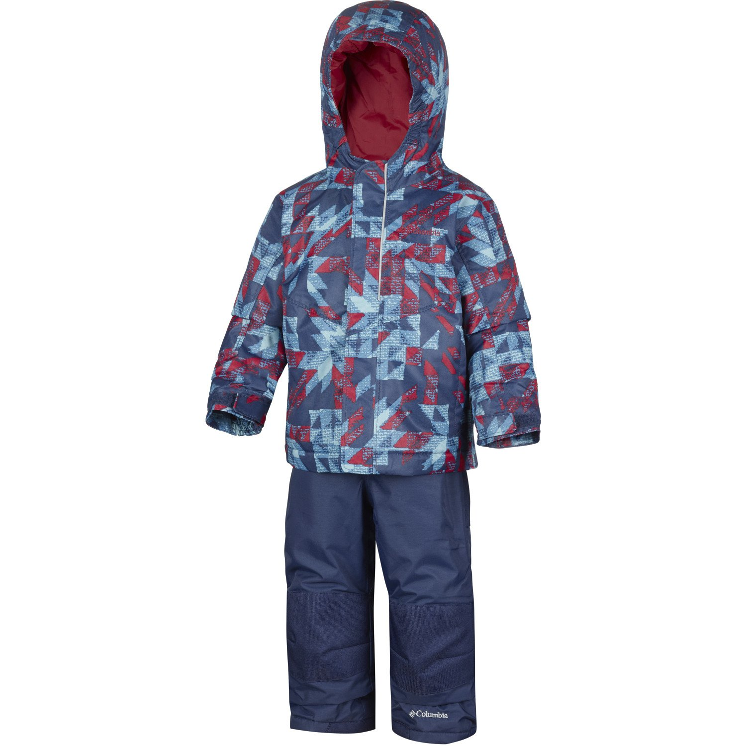 Columbia Buga Set Snowsuit 4T Collegiate Navy Checkers Print by Columbia