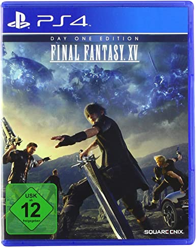 Final Fantasy XV Day One Edition (PlayStation PS4): Amazon.es ...