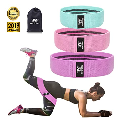 Resistance Bands Women Pilates Muscles Trainer Hip Training Workout Loop Exercise Elastic Rubber Loop Fitness Yoga Glute Lifter Resistance Band