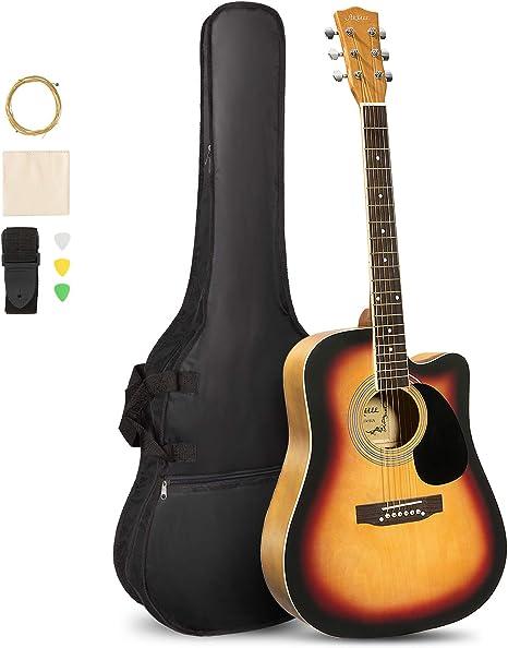 ARTALL - Kit de iniciación para guitarra acústica de 39 y 41 ...