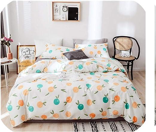 Printing Bedding set Cotton Bed Sheet Duvet Cover Pillow Case