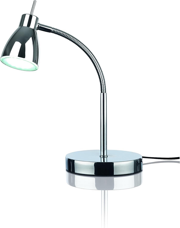 Tageslicht-Tischleuchte Augenschonende Nachttischlampe Flexibler Lampenkopf F/ür Wohnzimmer und Schlafzimmer maxVitalis LED-Schreibtischlampe Energiesparend Buche, LED-Schreibtischlampe