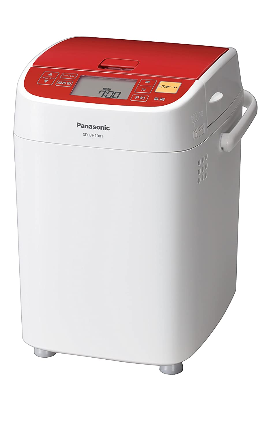 Panasonic Bread Maker Home Bakery Loaf Type Red Sd-bh1001-r (Japan Import-No Warranty) AC100