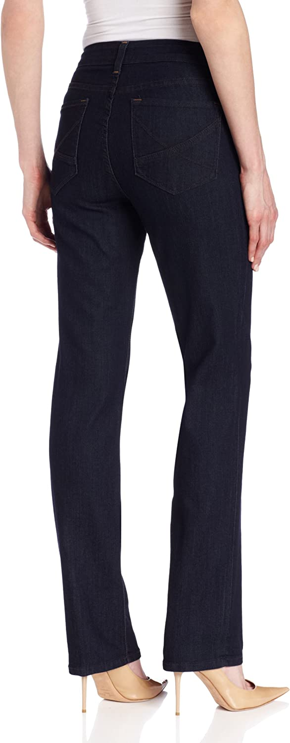 NYDJ Women's Hayden Straight-Leg Jean Blue Denim