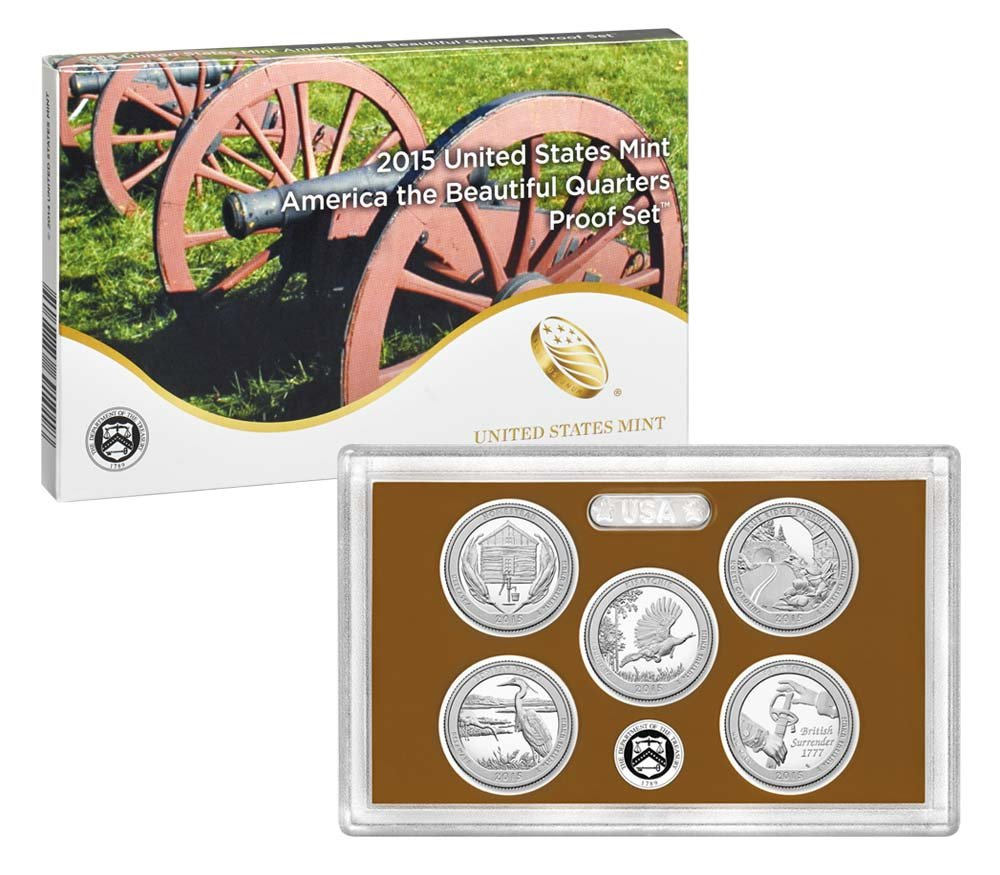 2011 2012 2013 2014 2015 2016 2017 2018 S National Parks Clad Mint Proof Set