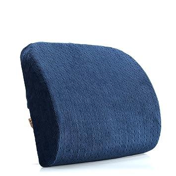 Almohada de soporte de cintura superior - Memory Sponge - Soporte de respaldo de respaldo - Nuevo diseño ergonómico de espuma ...