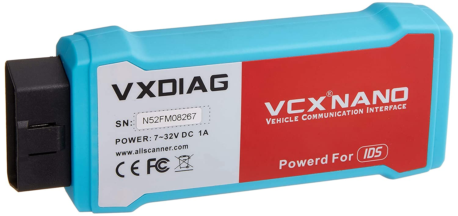 VXDIAG Nano for Ford/Mazda IDS Engine Code Reader Diagnostic Tool,1 Pack