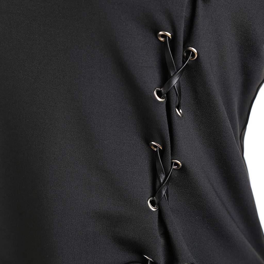 f674cb44e4078c ALIKEEY Cravate à Manches Trompette Gothique Steampunk pour Femme ...