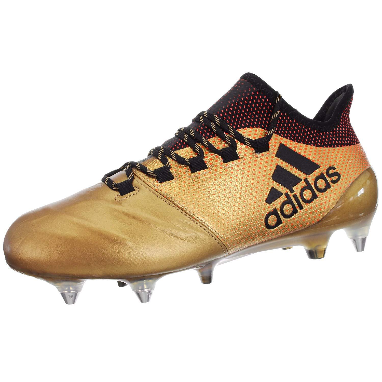 gris (Onix Cnoir Solrouge Onix Cnoir Solrouge) 40 2 3 EU adidas X 17.1 SG, Chaussures de Football Homme
