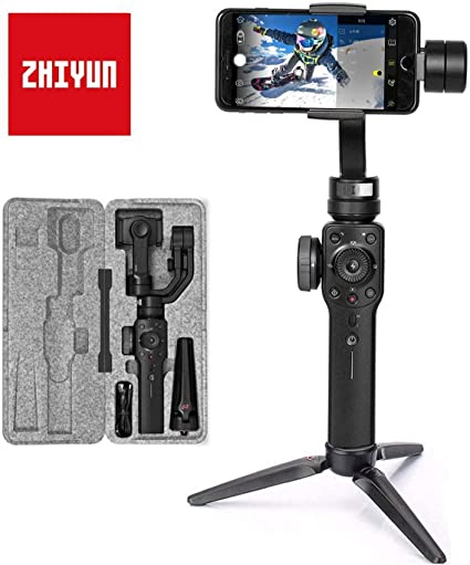 Zhiyun Smooth-4 Mobile Gimbal - Cámara Lenta, Color Gris metálico ...