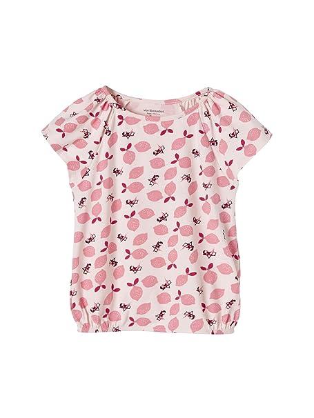 505eebbcf VERTBAUDET Camiseta Estampada para Niña con Forma abombada Rosa ...