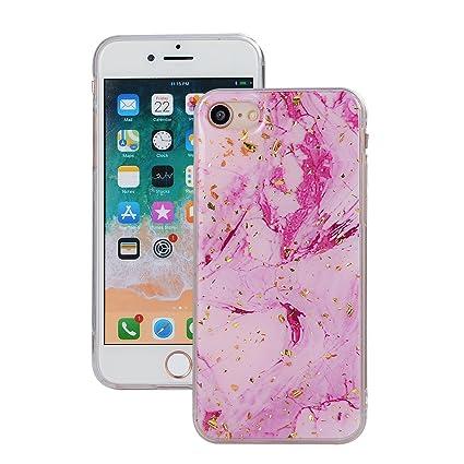 Amazon.com: iPhone 7 Funda, iPhone 8 Funda, cmeka rosa ...