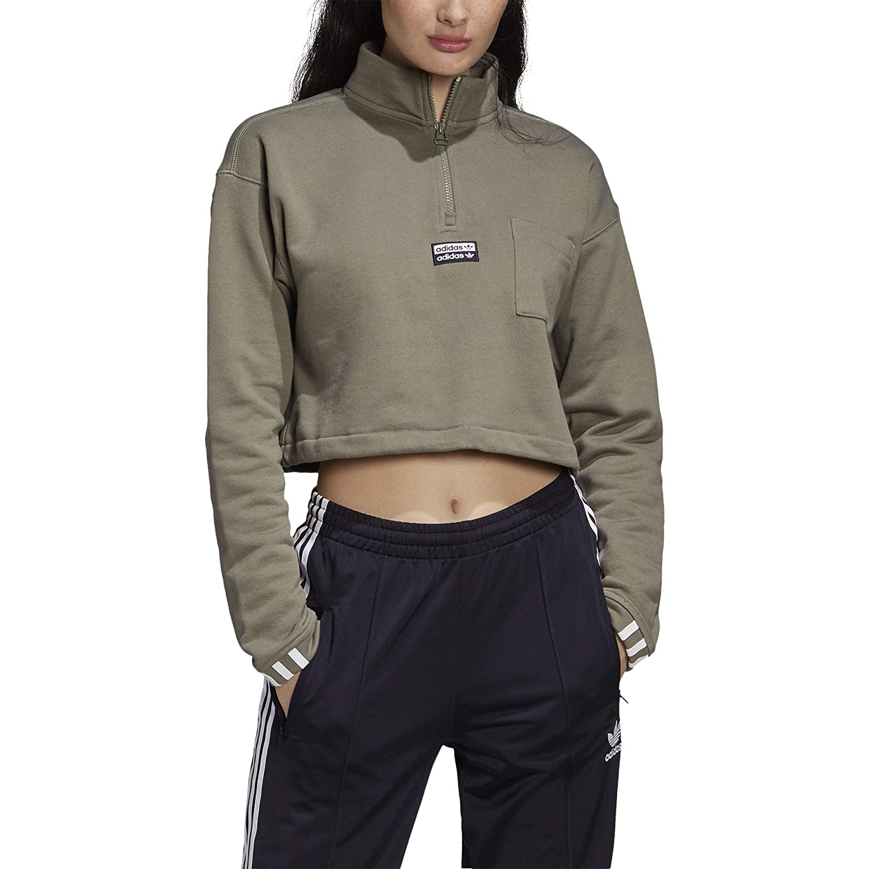 adidas Cropped Sweat Urbana Sudadera, Mujer: Amazon.es: Deportes y ...