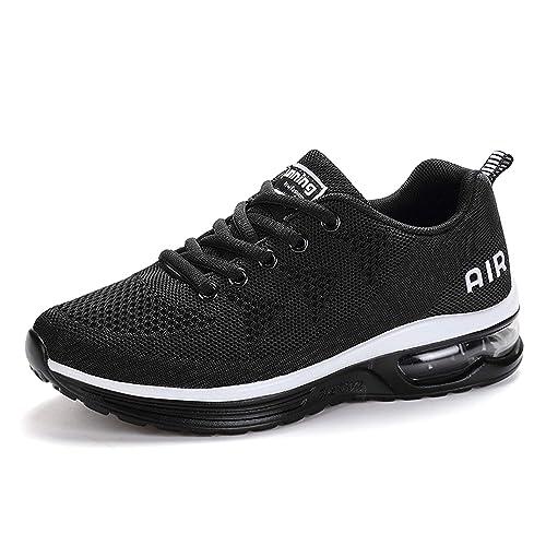5e3a37d6af6 SITAILE Homme Femme Chaussures de Course Baskets Chaussures de Sports  Coussin D Air Sneakers Running