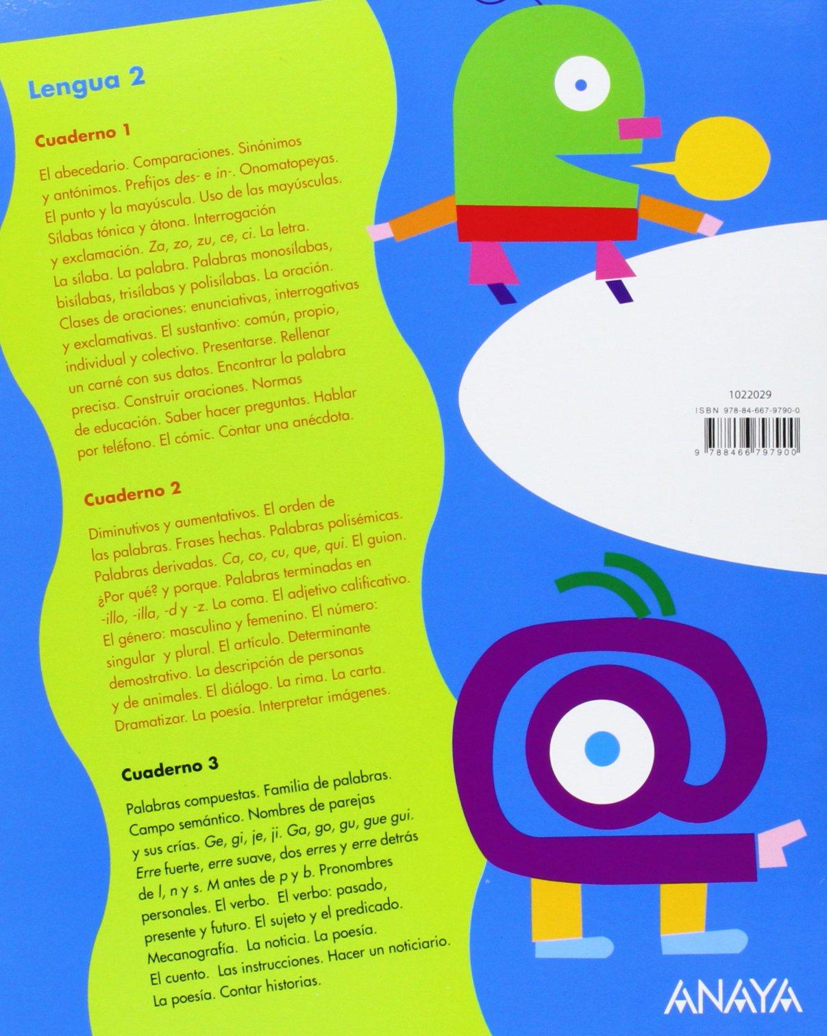 Lengua 2. Cuaderno 3. (UNA A UNA): Amazon.es: Emma Pérez Madorrán, Lourdes González López, M.ª Teresa Muiño Blasco: Libros