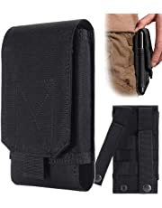Urvoix Black Army Camo Bag For Mobile Phone Belt Pouch Holster Cover Case Size L