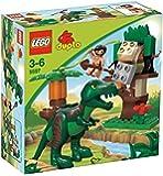 Lego - 5597 - Tyranosaurus Rex Saurus - Jeux de construction - Le piège à dinosaure