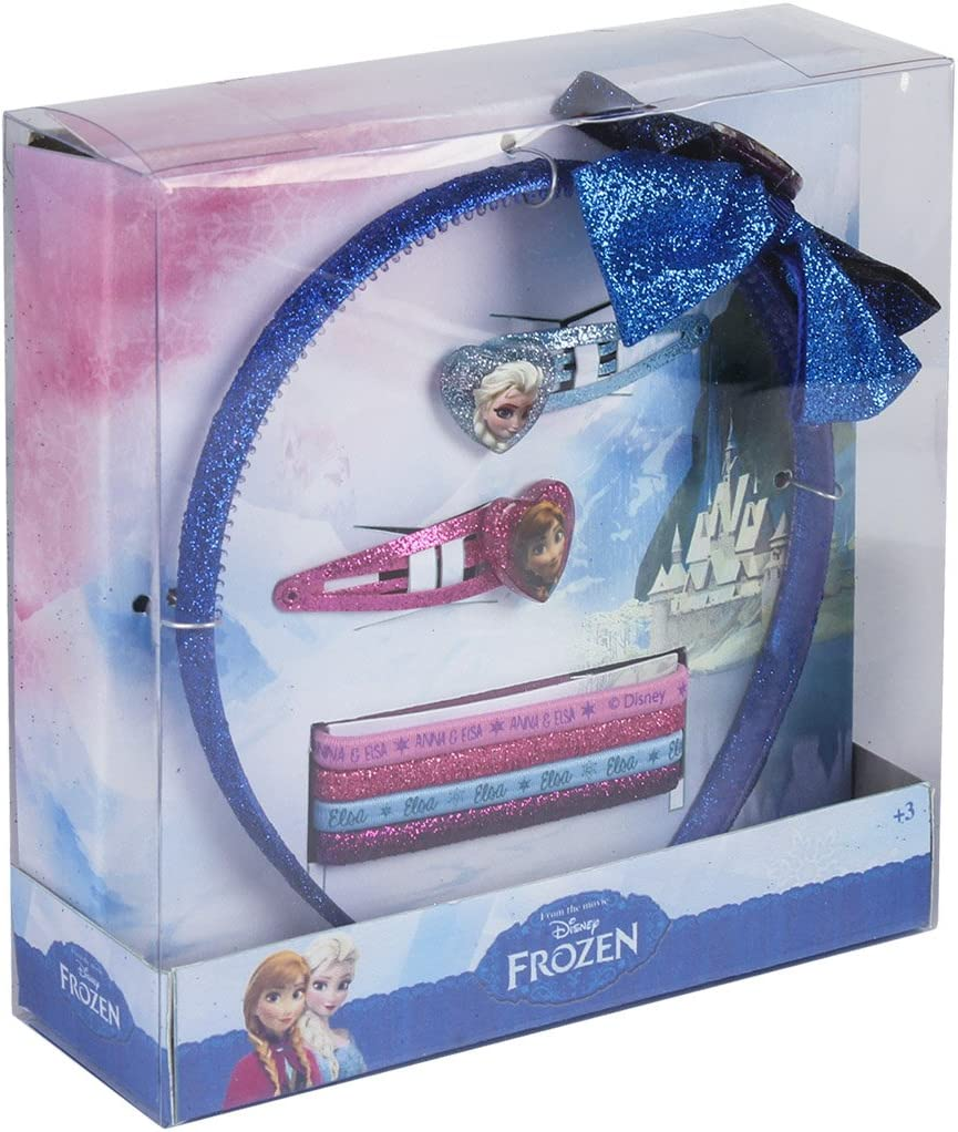 Disney Frozen- Accesorios Pelo en Caja Regalo (Artesanía Cerdá ...