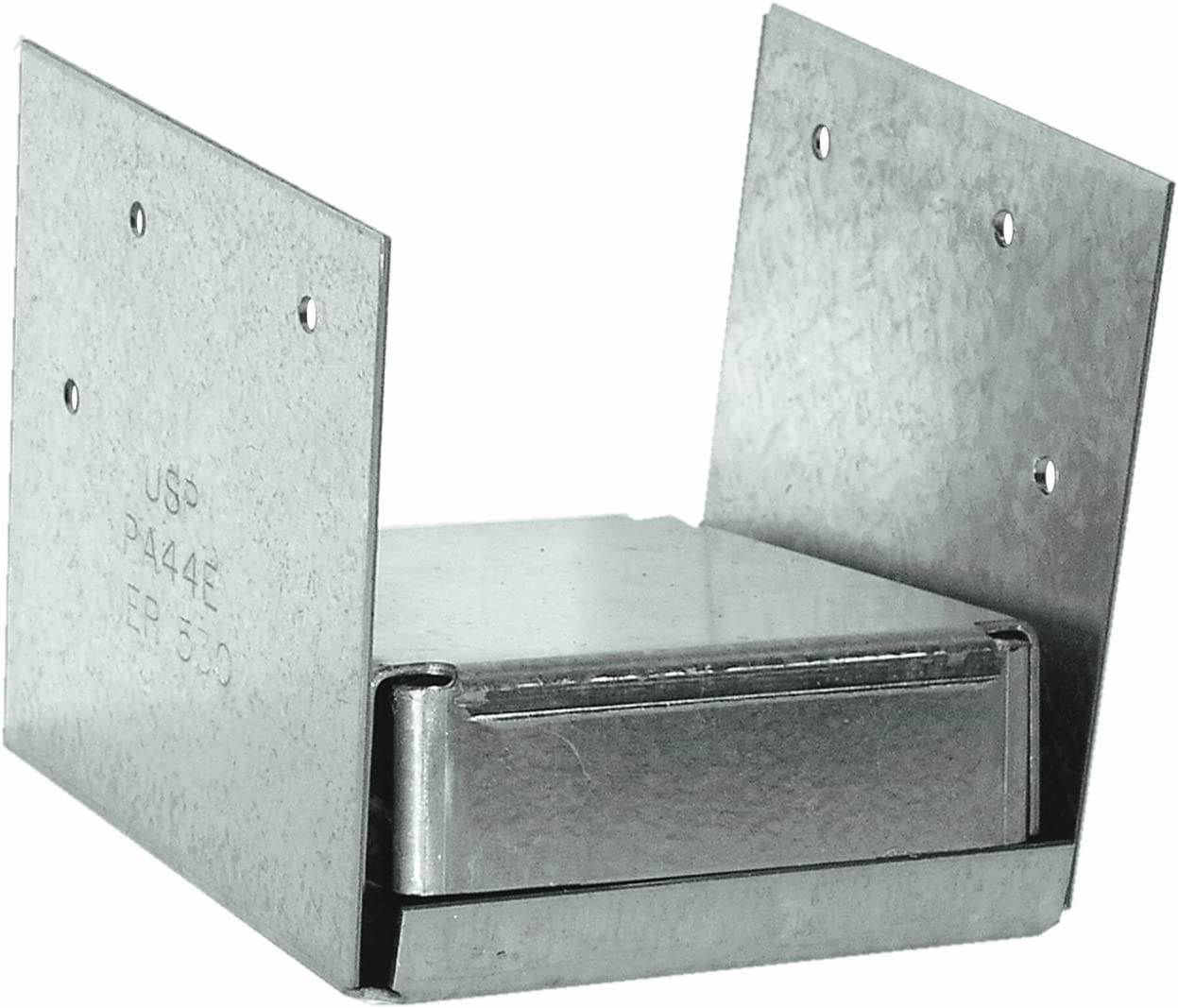 10 Z-Max Adj Post Base - 4 x 4 Post Size Simpson Strong-Tie® ABE44Z 16 Ga