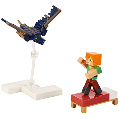 Minecraft Comic Mode Phantom and Alex 2-Pack: Toys & Games