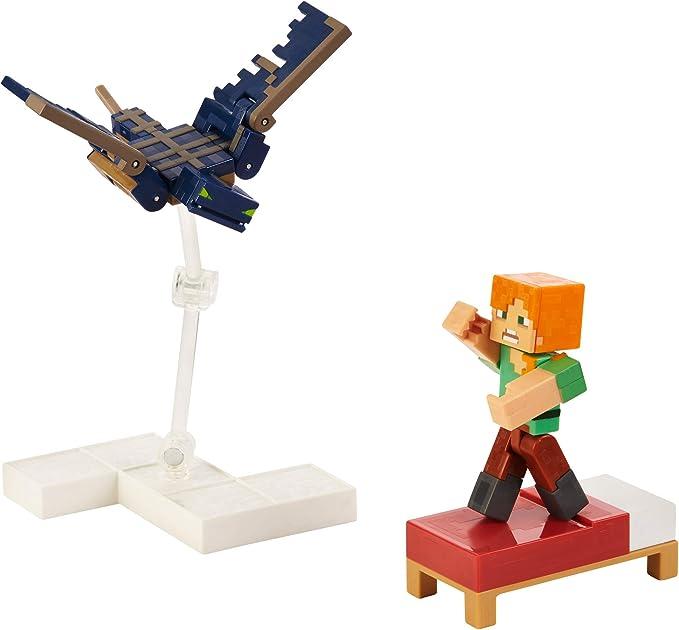 Mattel Minecraft Comic Mode Jungle Dwellers Figures NEW IN STOCK Set
