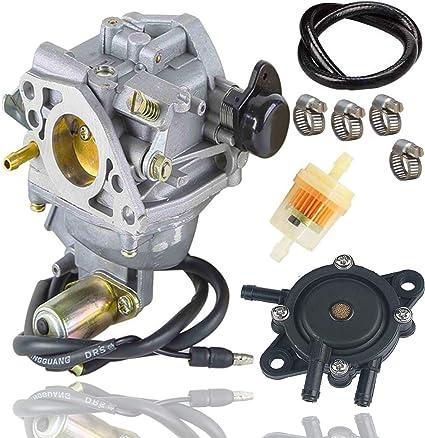 Amazon.com : Fyange GX610 Carburetor+ Fuel Pump for Honda GX 610 GX620 18HP  20HP Engine Lawn Mower 16100-ZJ0-872, 16100-ZJ1-872 with Fuel Filter/Fuel  Line : Garden & Outdoor | Gx610 Fuel Filter |  | Amazon.com