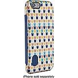 Modal - Hard Shell Case for Apple® iPhone® 6 - White/Dark Blue